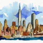 New york ilustrations ilustraciones para Get Britt