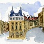 Picadilly Ilustrations Get Britt ilustraciones en acuarela