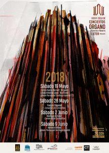 Diseño cartel Ciclo de Conciertos de Órgano Barroco